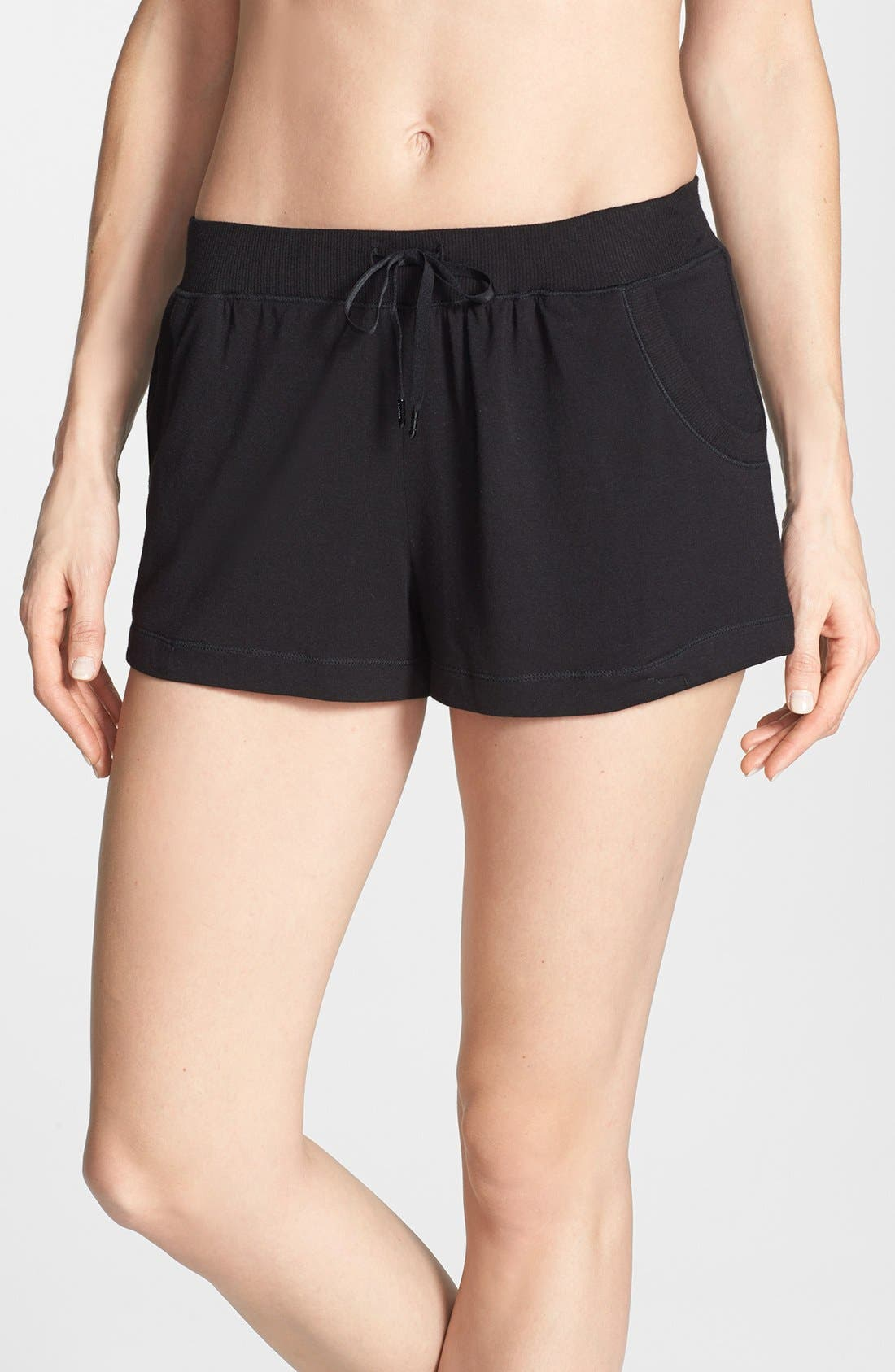 'City Essentials' Shorts,                             Main thumbnail 1, color,                             Black