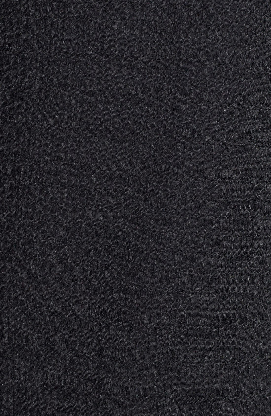 Alternate Image 3  - Sanctuary Faux Leather Sleeve Shift Dress