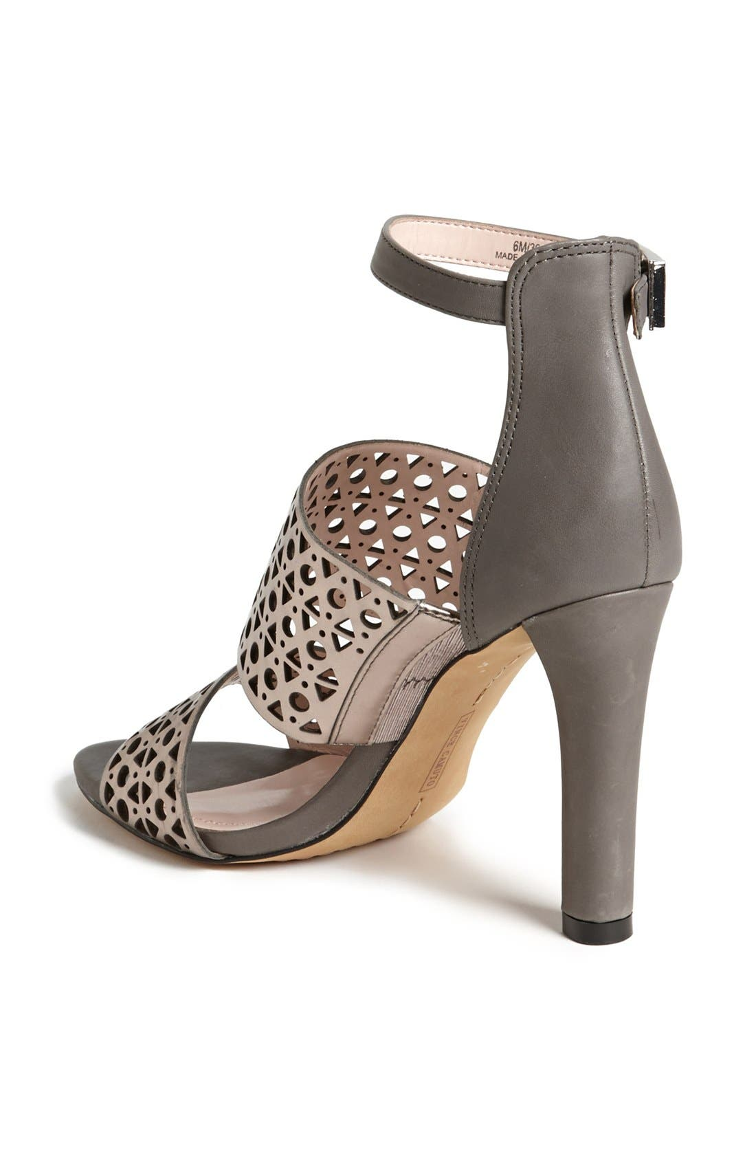 Alternate Image 2  - Vince Camuto 'Okeli' Perforated Ankle Strap Sandal
