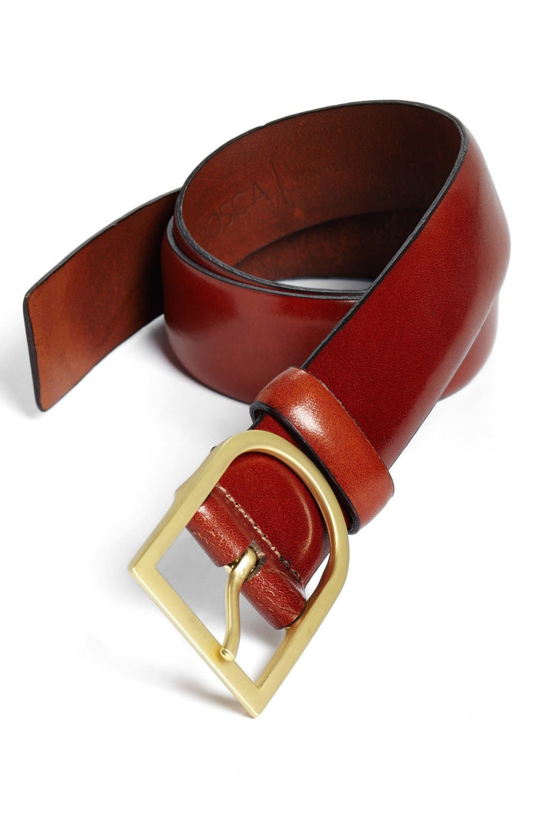 Alternate Image 1 Selected - Bosca Leather Belt