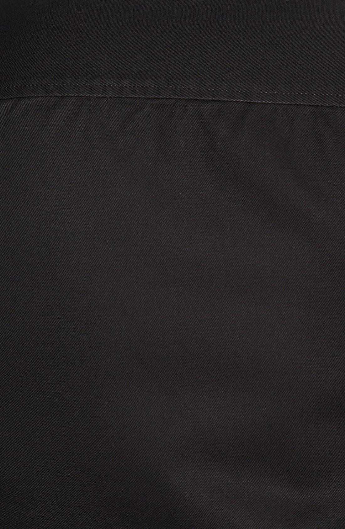 Alternate Image 2  - Public Opinion Trim Fit Denim Sport Shirt