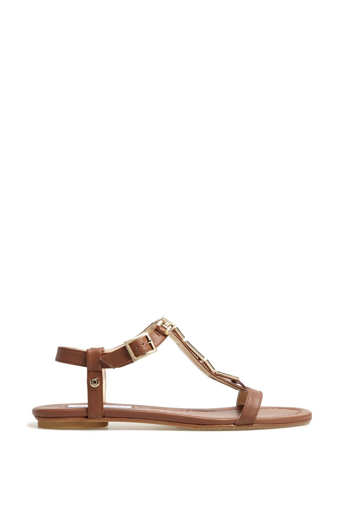 Alternate Image 4  - Jimmy Choo 'Narcissa' Chain T-Strap Sandal