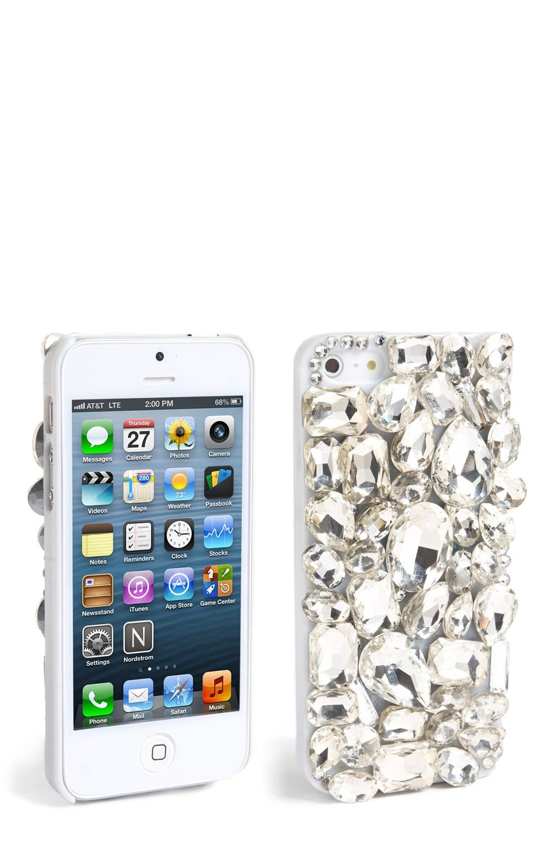 Main Image - Natasha Couture 'Be Jeweled' iPhone 5 Case