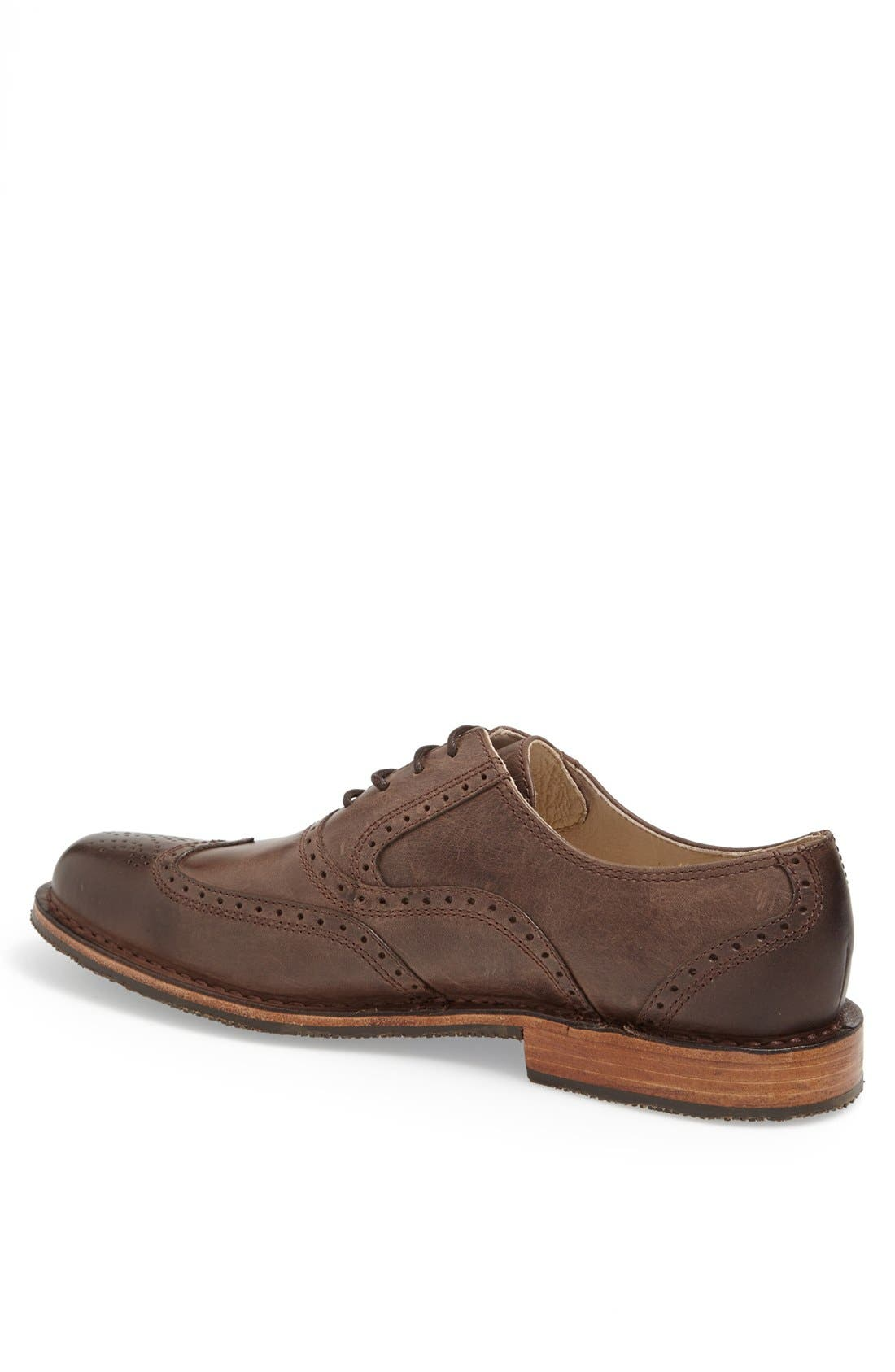 Alternate Image 2  - Sebago 'Brattle' Wingtip Oxford (Online Only)