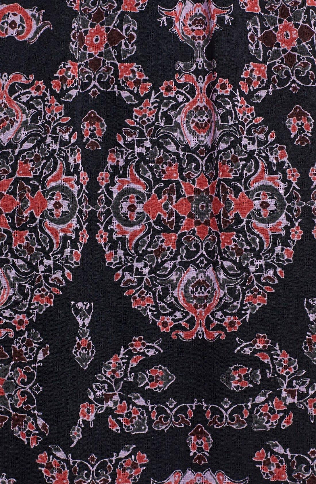 Alternate Image 3  - Free People Print Chiffon Maxi Dress