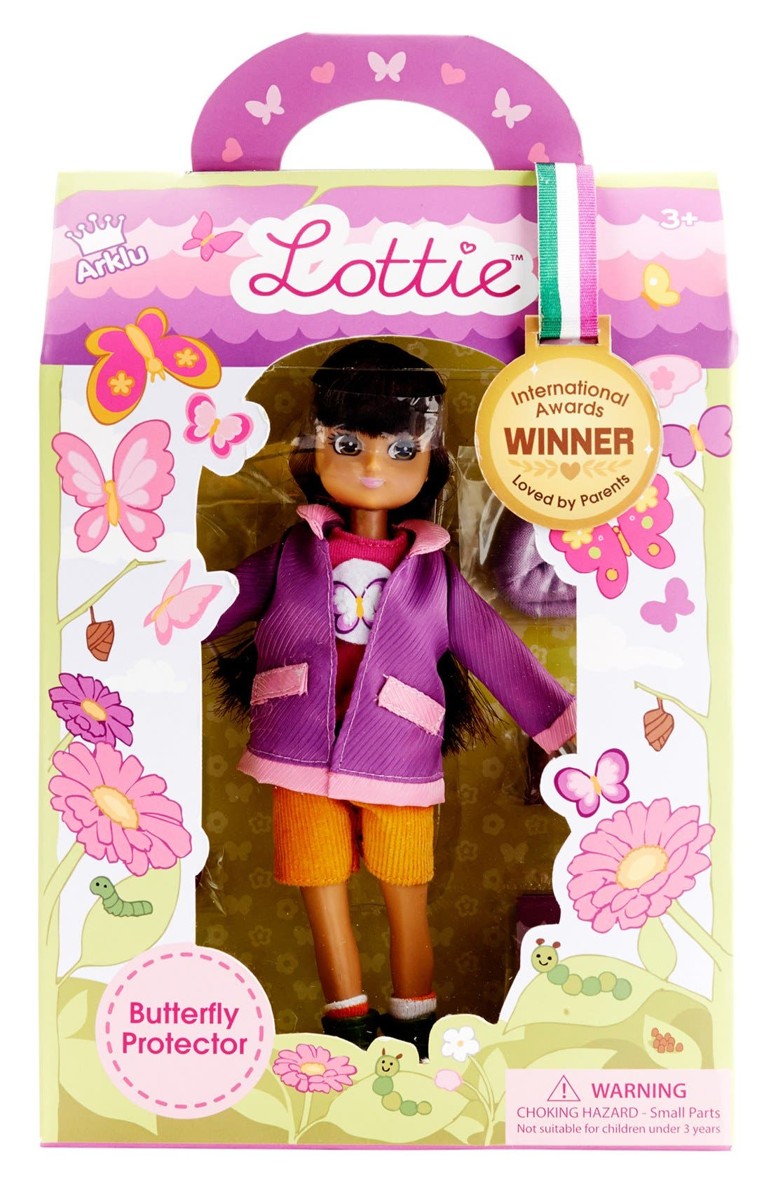Alternate Image 7  - Schylling 'Lottie™ - Butterfly Protector' Doll