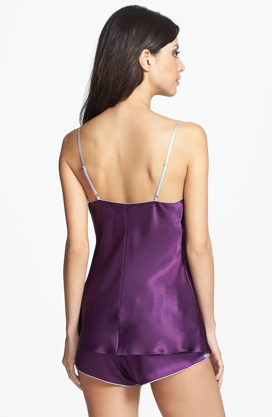 Alternate Image 2  - Oscar de la Renta Sleepwear 'Lavish Lace' Shorty Pajamas