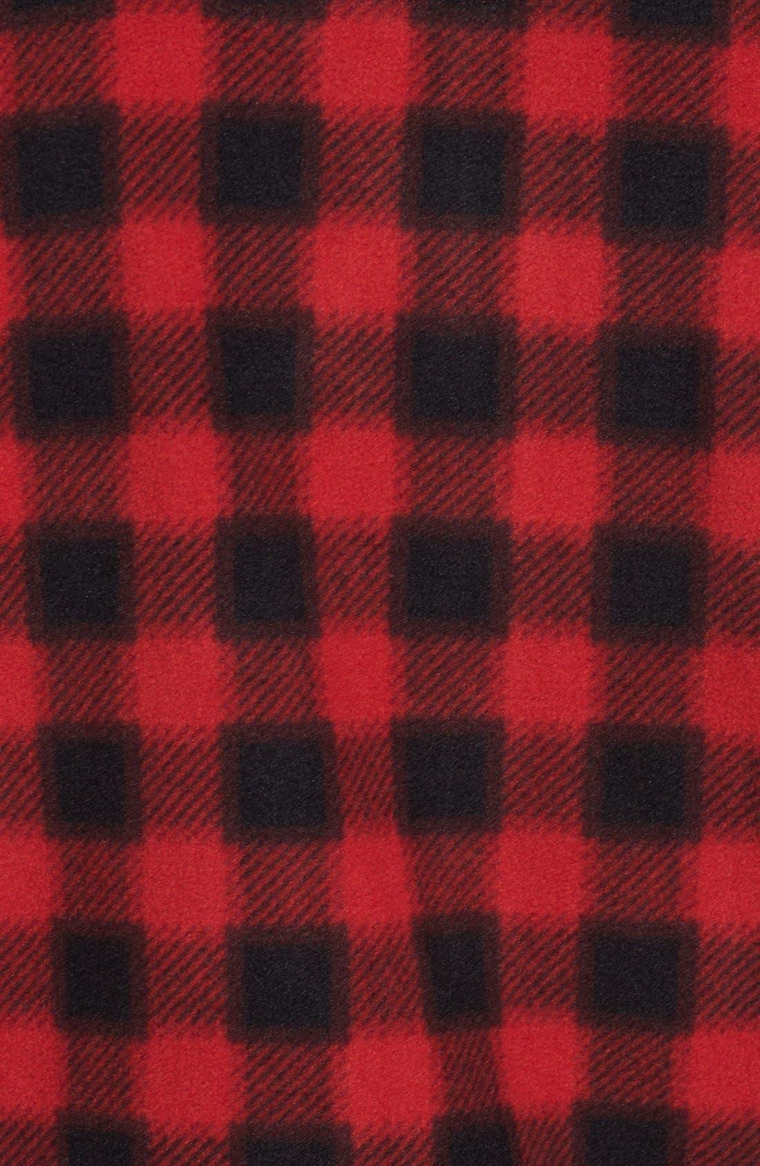 Alternate Image 3  - Wallin & Bros. Trim Fit Plaid Full Zip Fleece