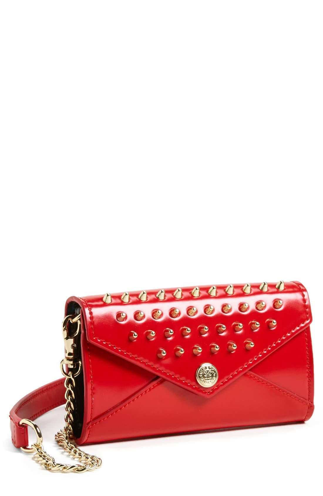 Alternate Image 1 Selected - Rebecca Minkoff 'Studded Wallet on a Chain - Mini' Crossbody Bag