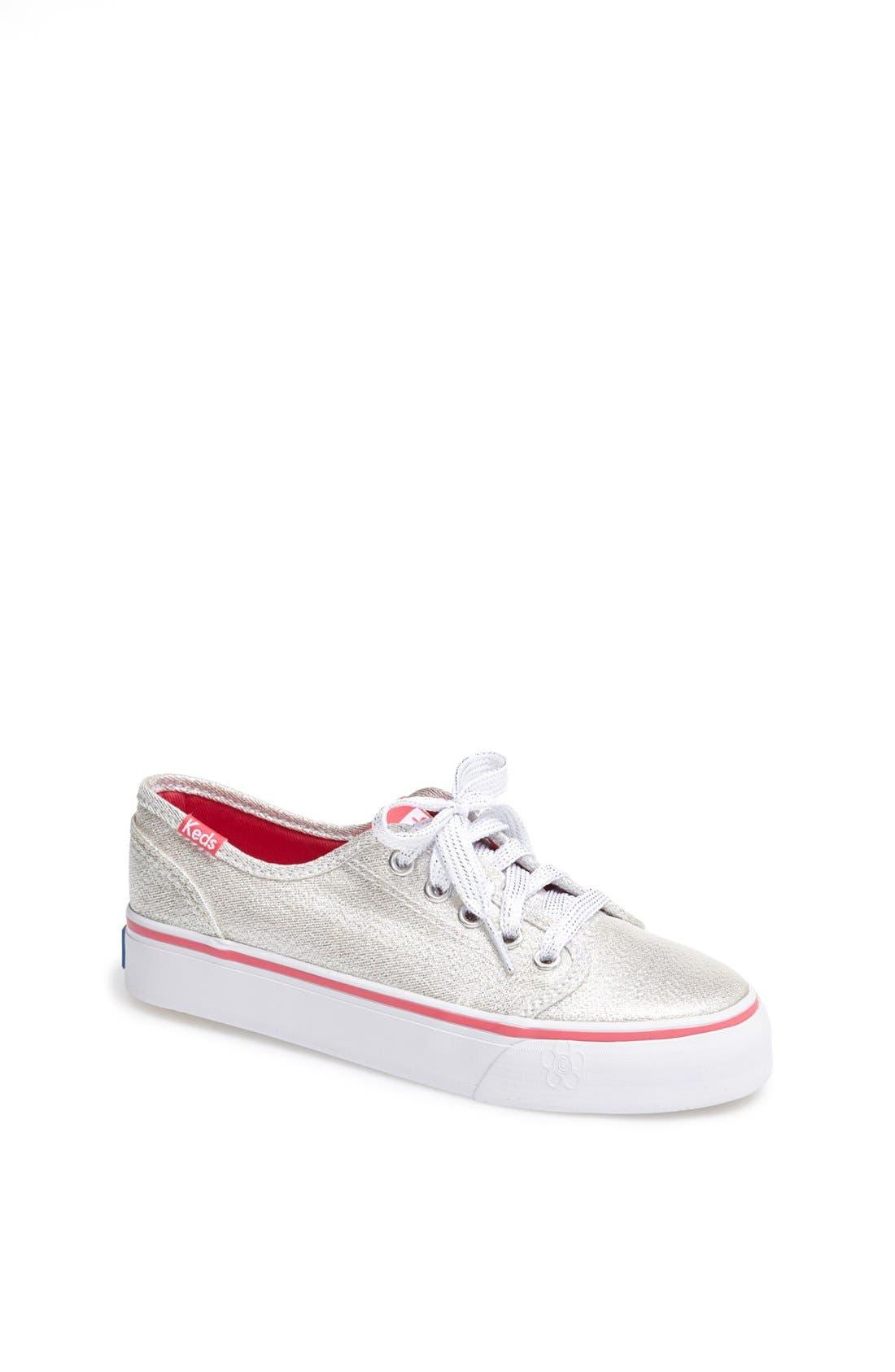 Alternate Image 1 Selected - Keds® 'Double Dutch Shimmer' Sneaker (Toddler, Little Kid & Big Kid)