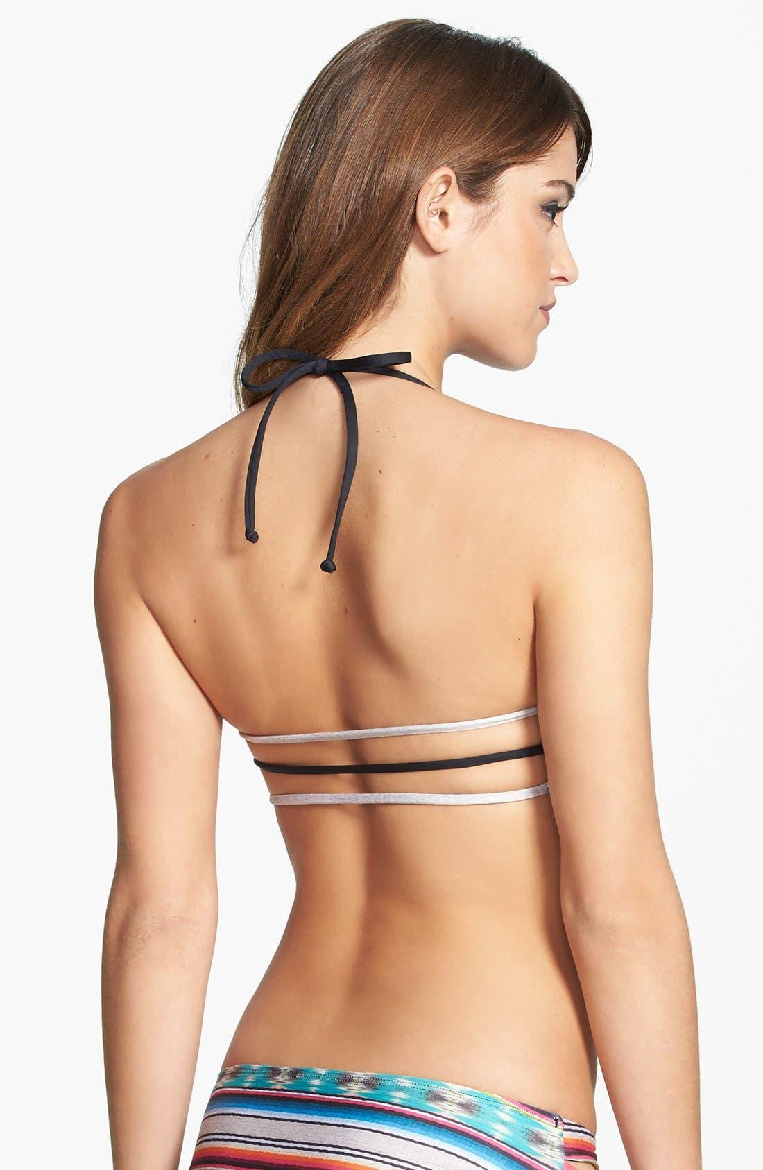 Alternate Image 2  - L Space 'Cozumel' Reversible Strappy Back Bikini Top
