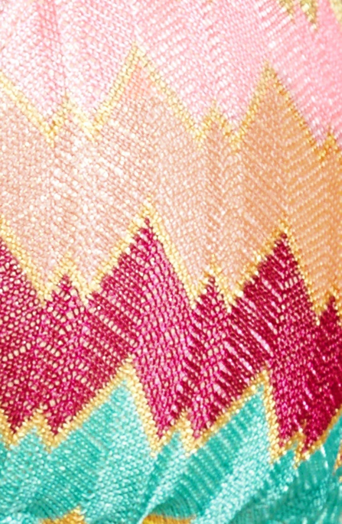 'La Fama' Triangle Bikini Top,                             Alternate thumbnail 5, color,                             Multi