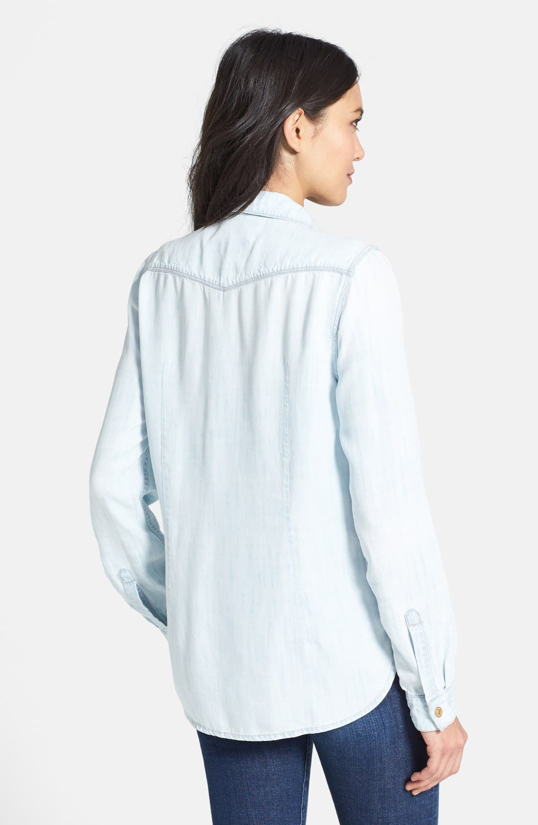 Alternate Image 2  - 7 For All Mankind® Western Shirt