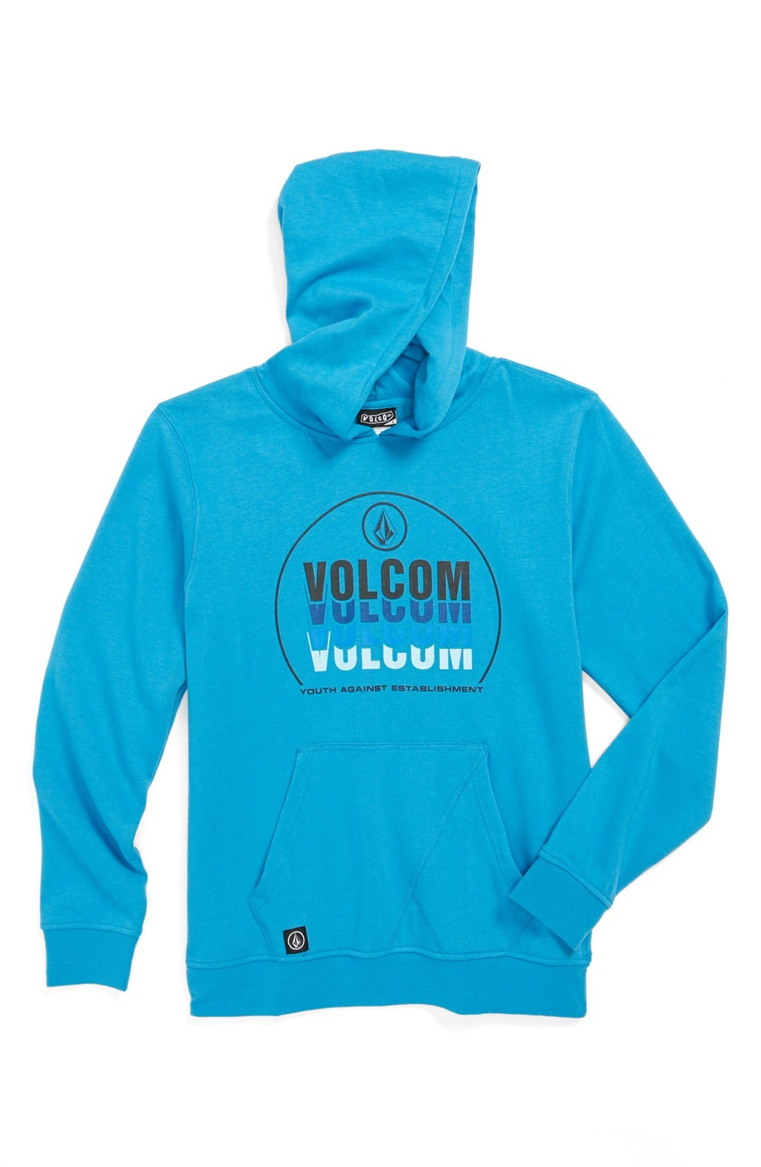 Alternate Image 1 Selected - Volcom 'Labelize It' Hoodie (Big Boys)