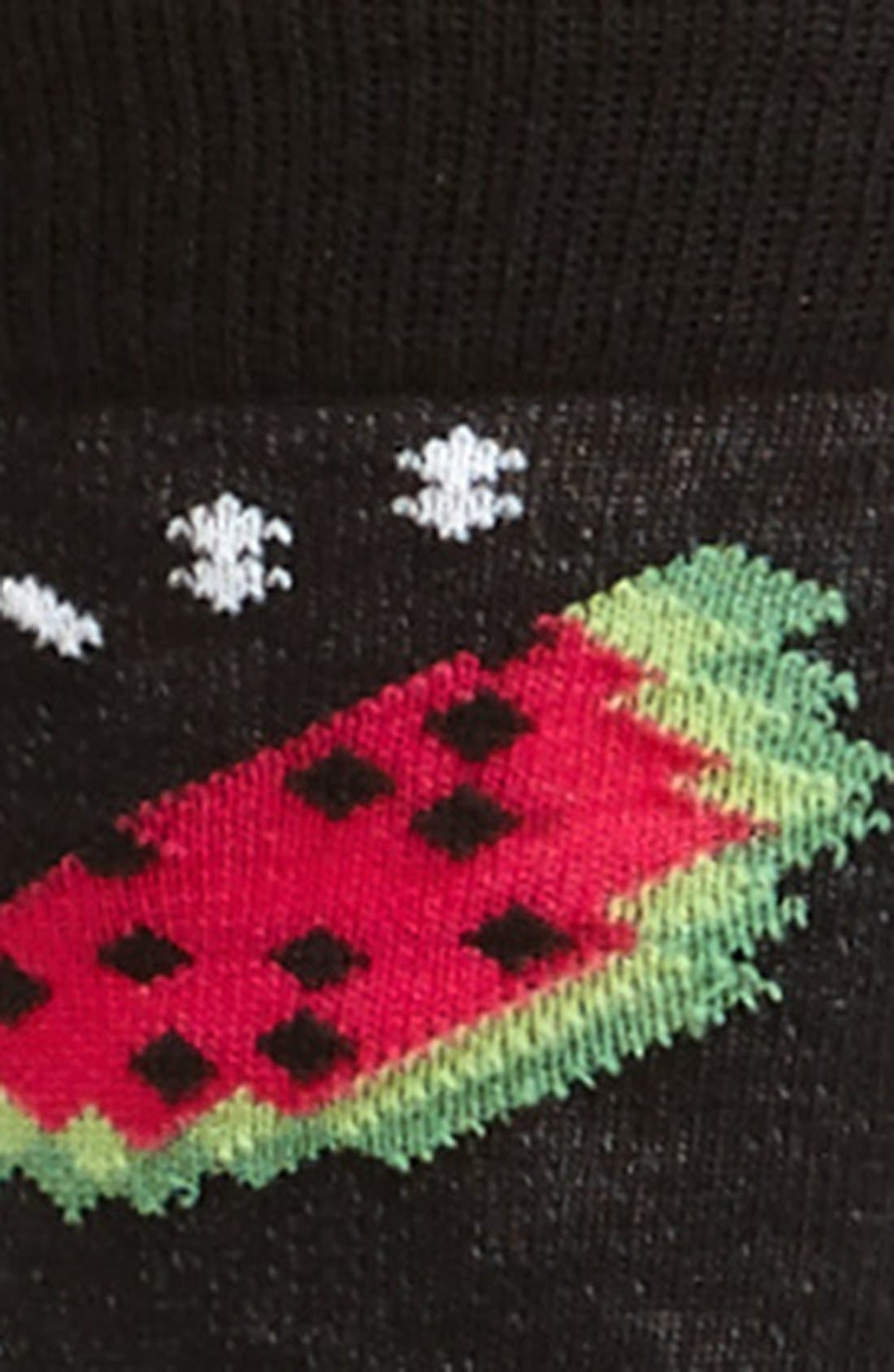 Alternate Image 2  - Topman Fruit Pattern Socks