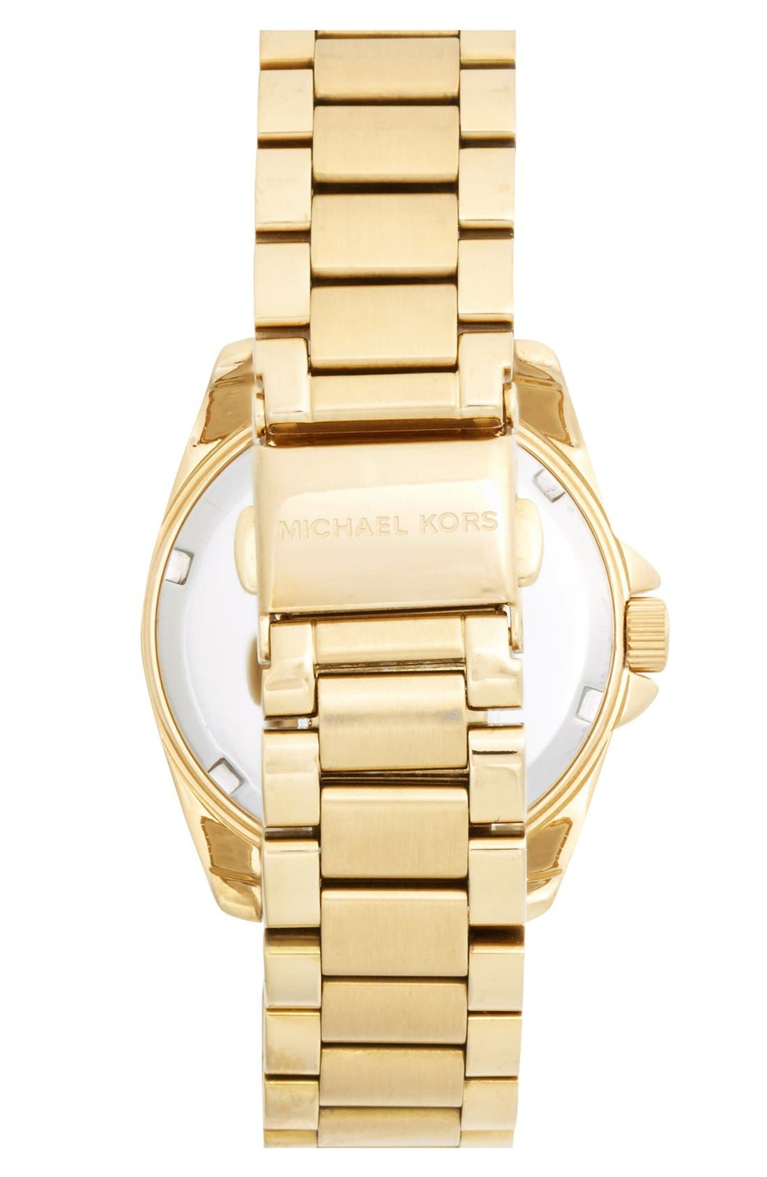 Alternate Image 2  - Michael Kors 'Mini Camille' Pavé Bezel Bracelet Watch, 26mm