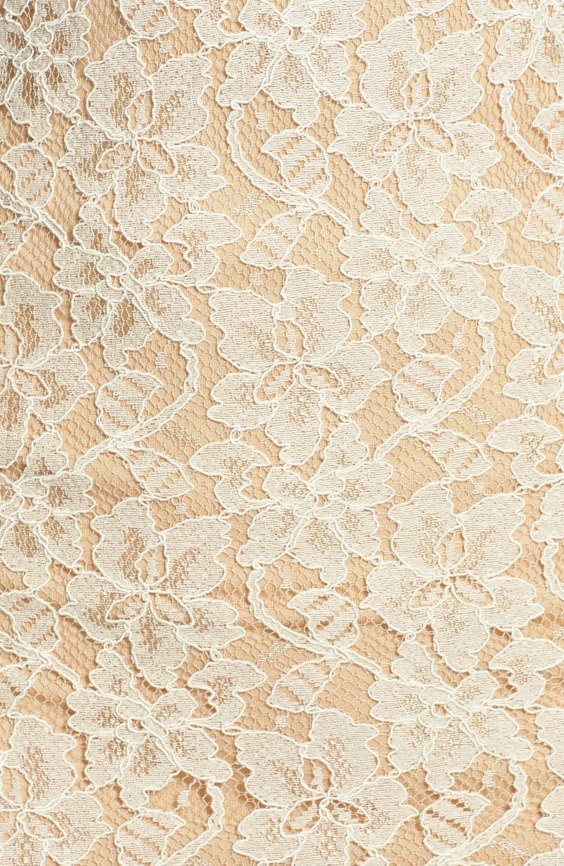 Alternate Image 3  - Diane von Furstenberg 'Zarita' Lace Scoop Dress