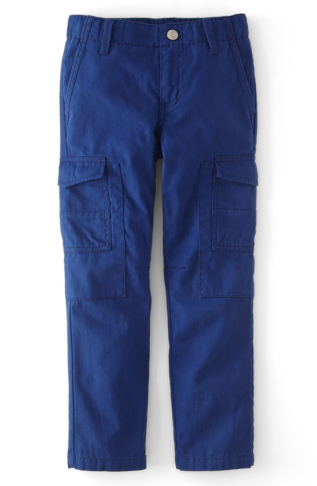 Main Image - Mini Boden Slim Fit Cargo Pants (Toddler Boys, Little Boys & Big Boys)