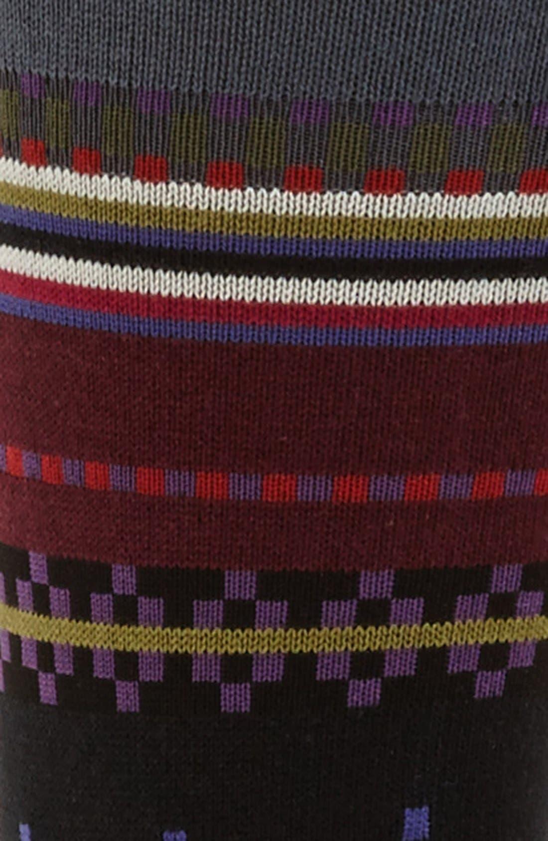 Alternate Image 2  - Paul Smith Stripe Socks