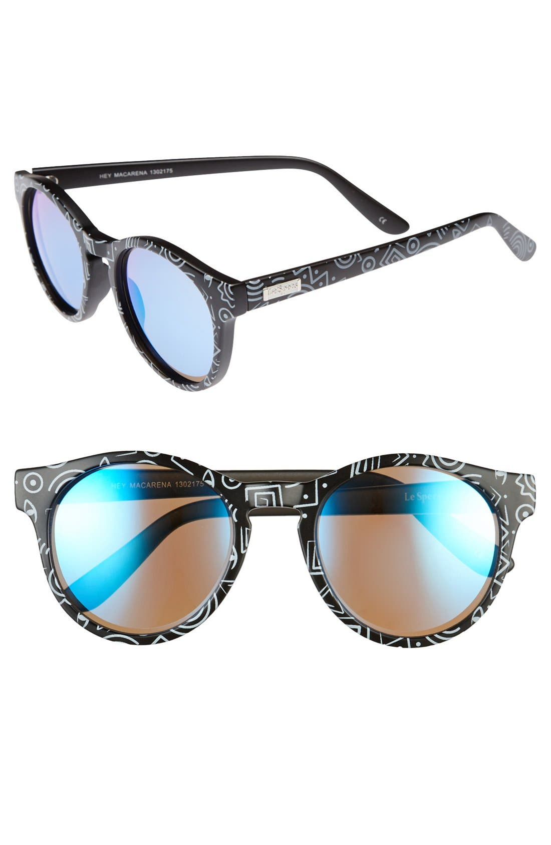Alternate Image 1 Selected - Le Specs Retro 51mm Sunglasses