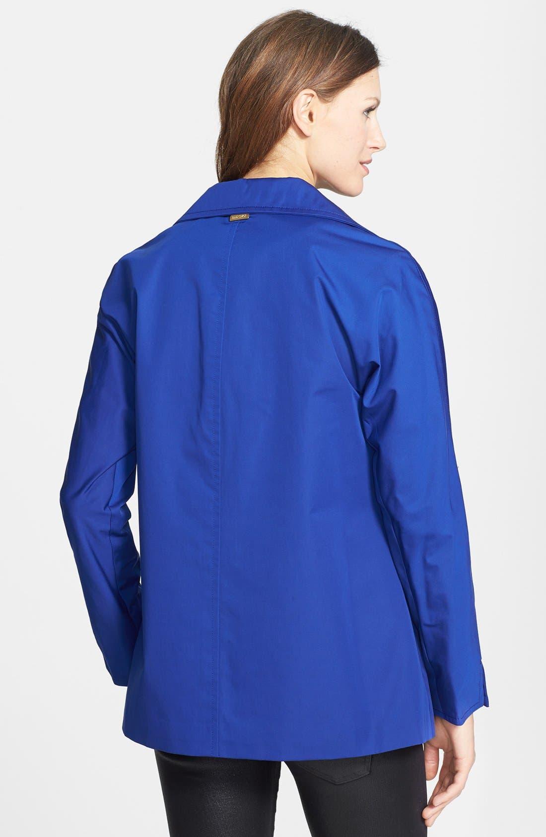 Alternate Image 2  - Ellen Tracy Kimono Raincoat (Regular & Petite)