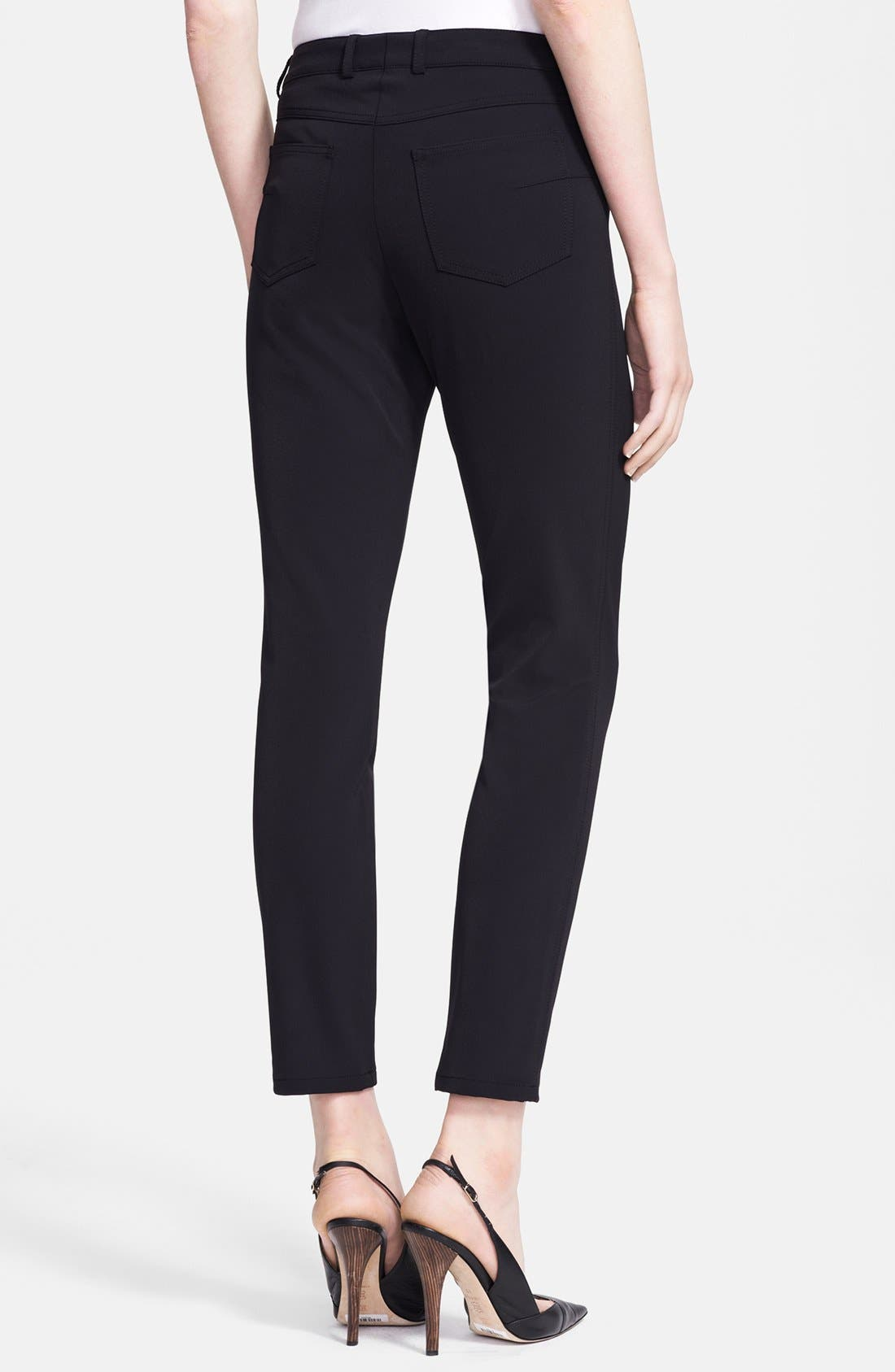 Alternate Image 2  - ESCADA Skinny Techno Jeans