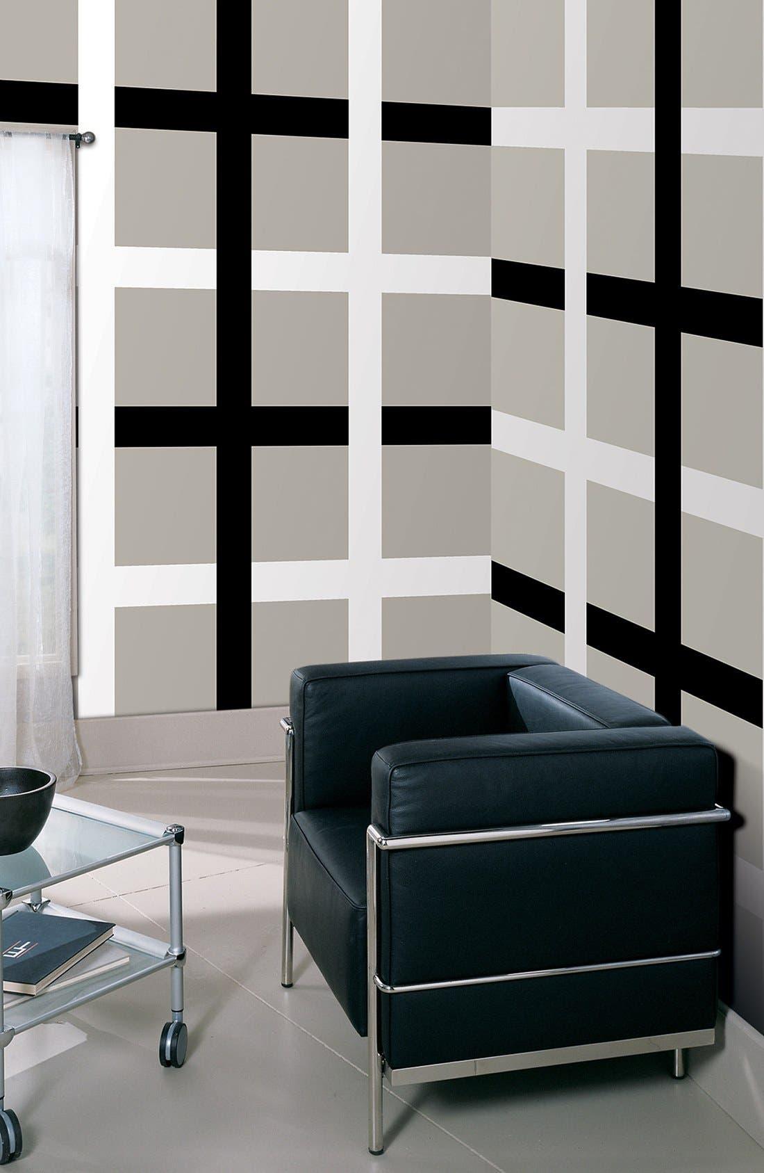 Alternate Image 1 Selected - Wallpops 'Blackjack & Ghost Stripes' Wall Art