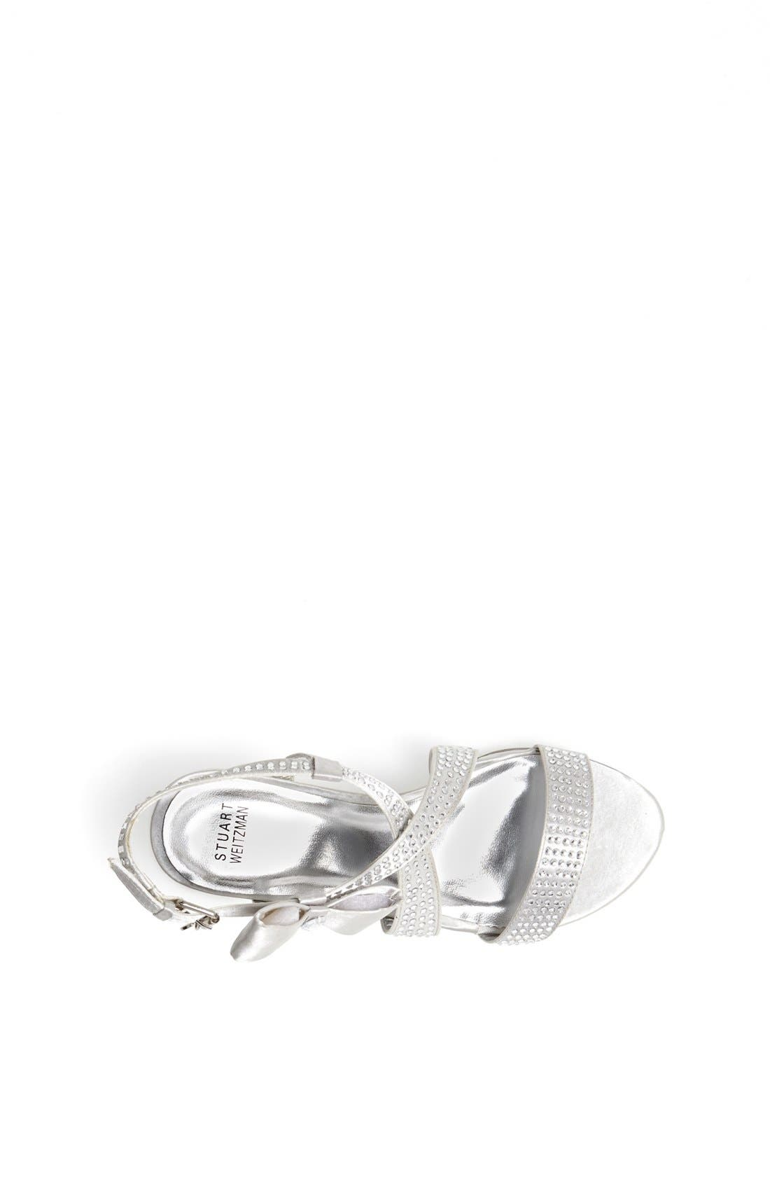 Alternate Image 3  - Stuart Weitzman 'Verna Janie' Sandal (Little Kid & Big Kid)