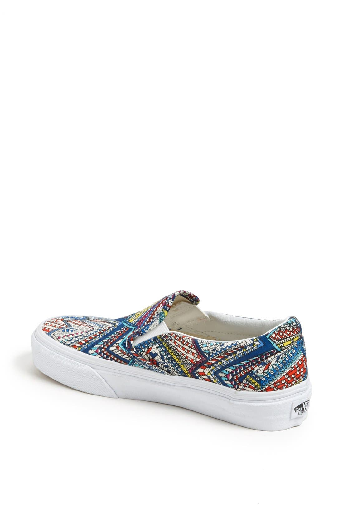 Alternate Image 2  - Vans 'Classic - Abstract' Sneaker (Women)