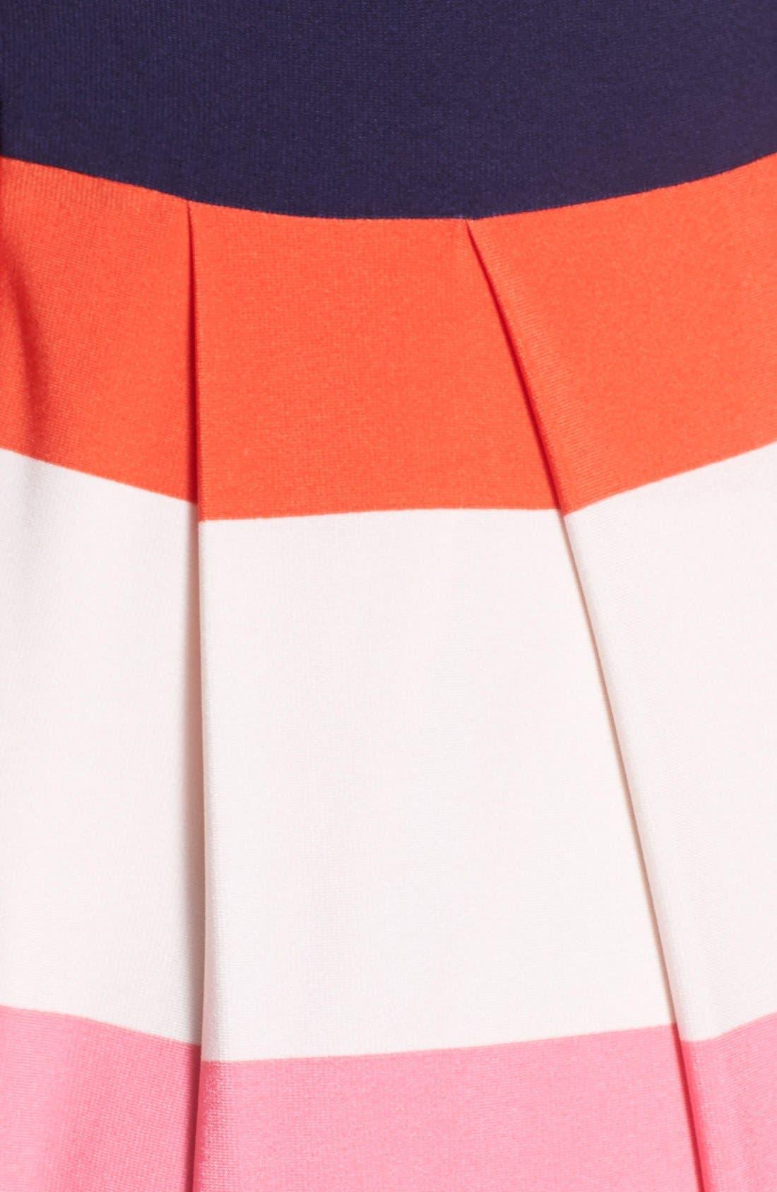 Alternate Image 3  - Eliza J Stripe Jersey Maxi Dress (Regular & Petite)