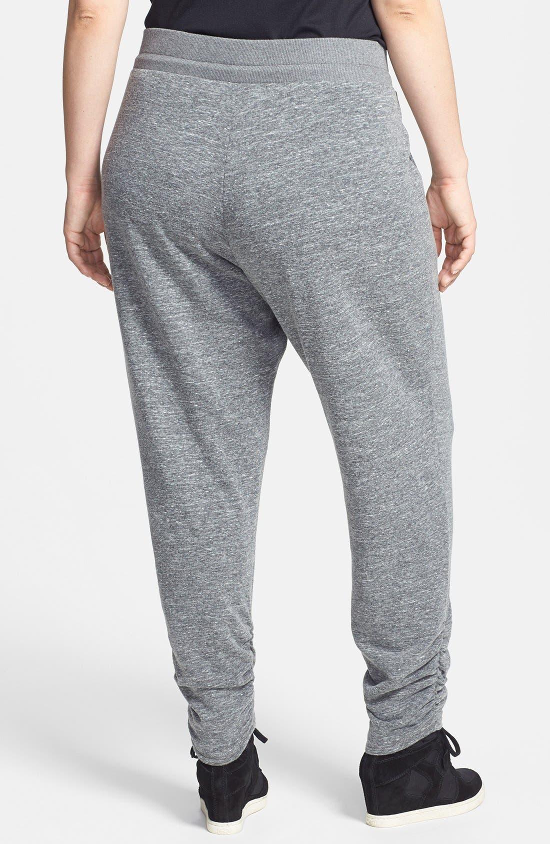 Alternate Image 2  - Sejour Ruched Ankle Pants (Plus Size)