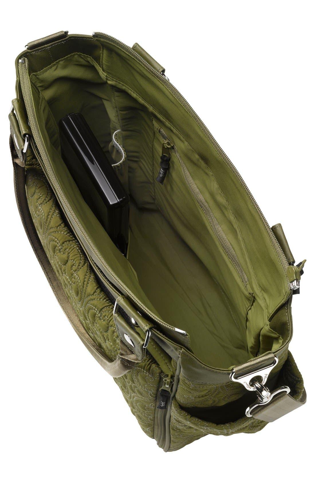 Alternate Image 2  - Petunia Pickle Bottom 'City Carryall' Embossed Diaper Bag