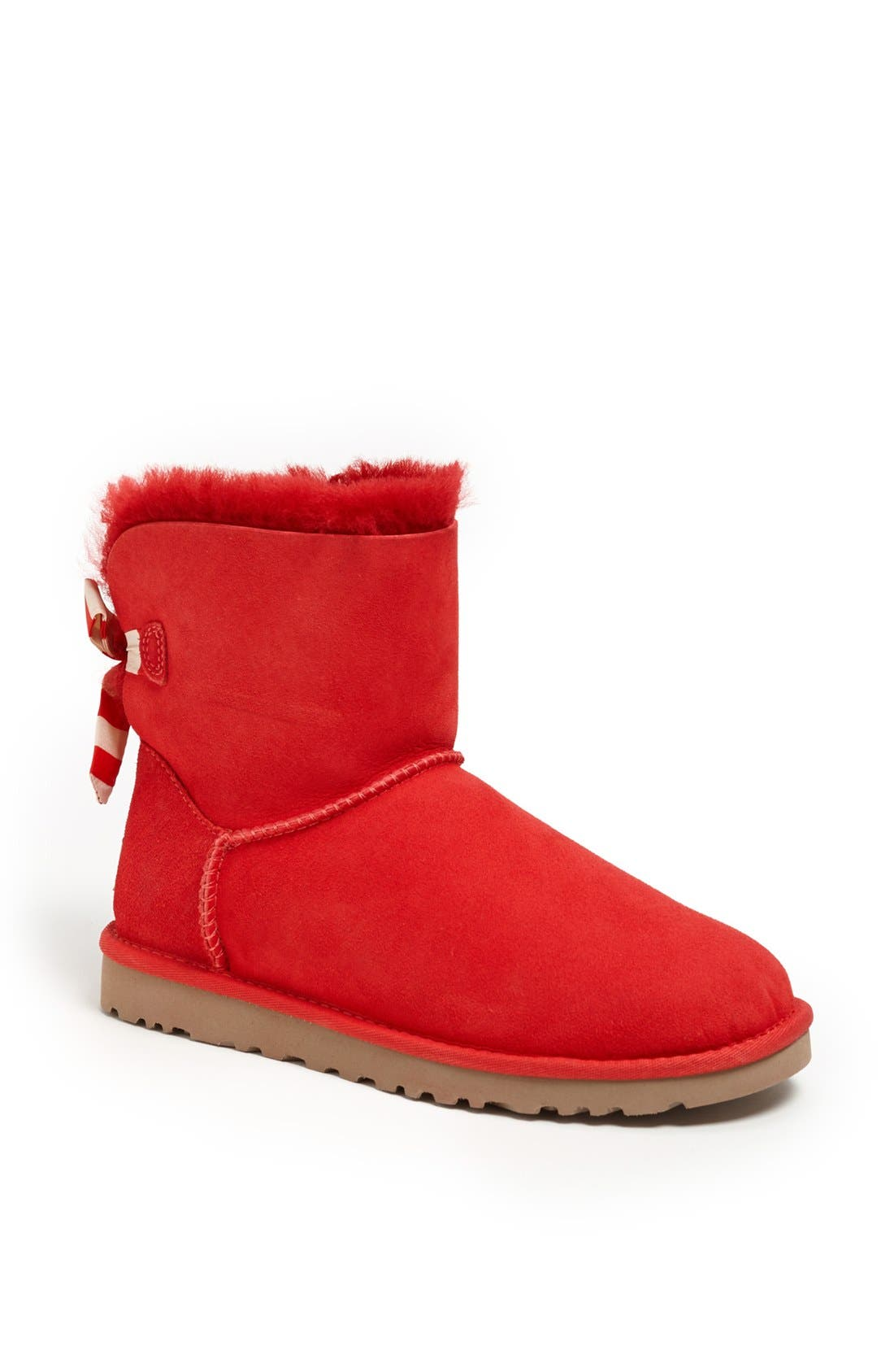 Alternate Image 1 Selected - UGG® Australia 'Mini Bailey Button Bow' Boot (Women)