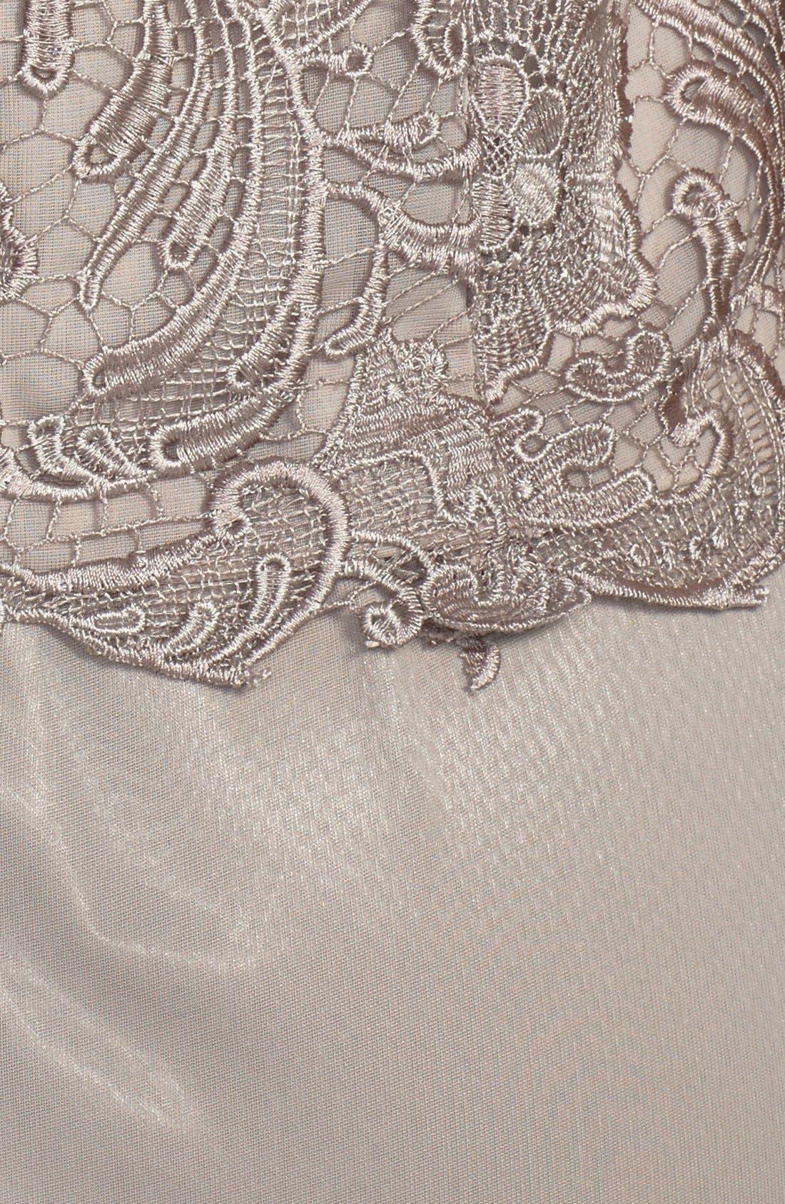 Alternate Image 3  - Patra Venice Lace & Chiffon Dress