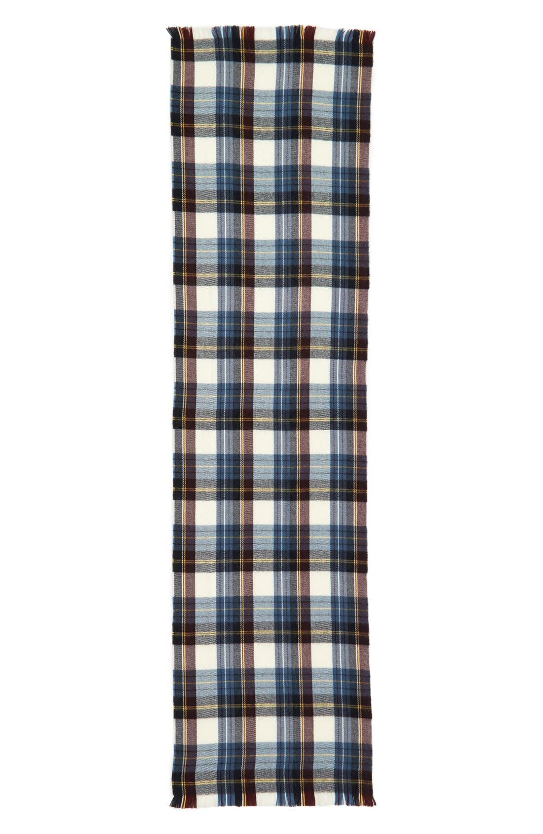 Alternate Image 2  - Topshop Plaid Scarf