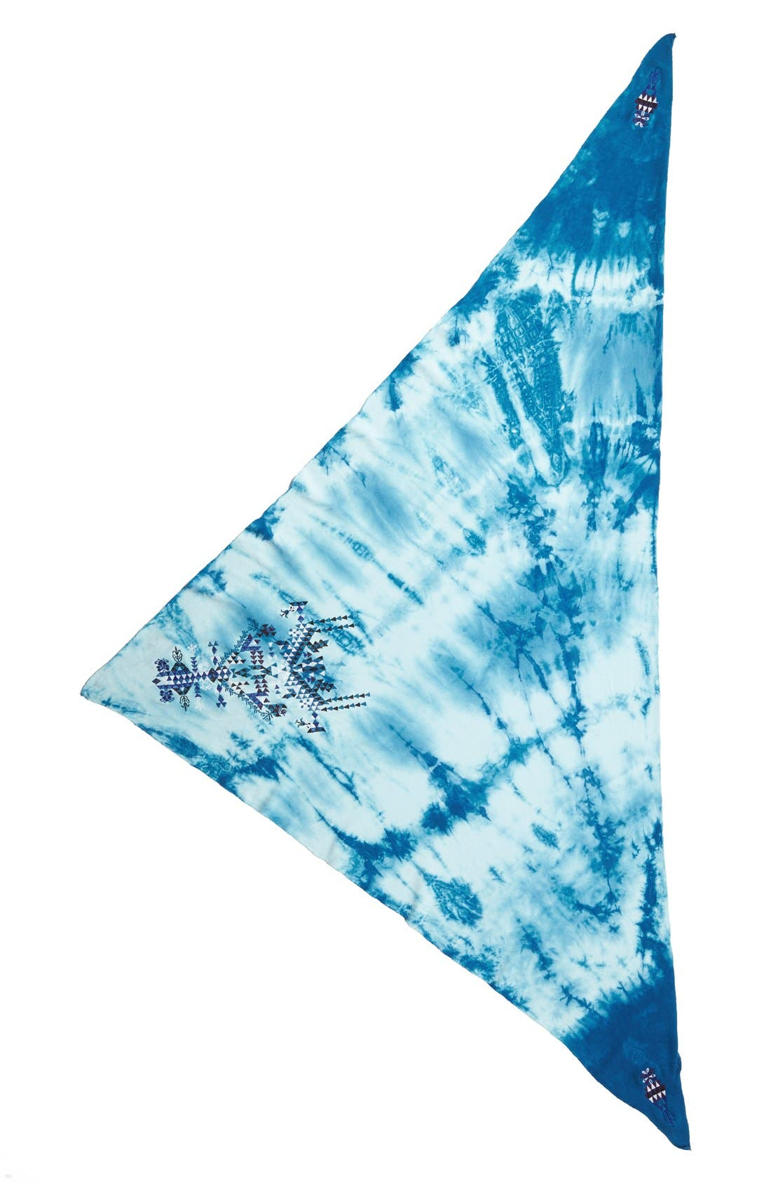 Alternate Image 2  - Leith Embroidered Triangle Scarf