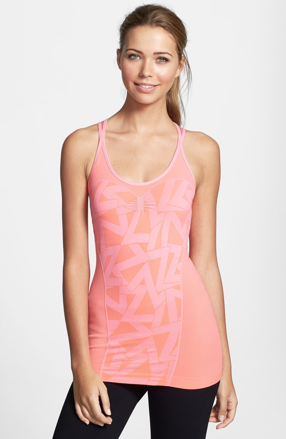 Alternate Image 1 Selected - Zella 'Devotion' Seamless Compression Tank