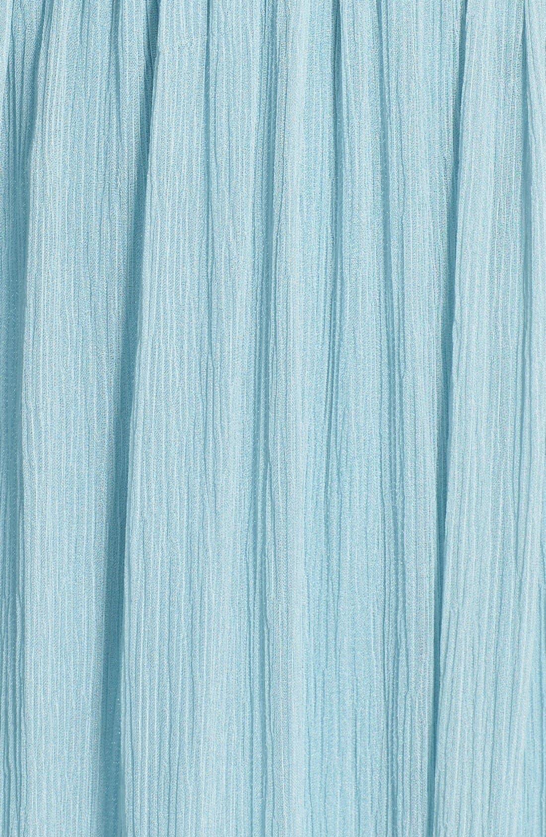 Alternate Image 3  - Jenny Yoo 'Sienna' Strapless Crinkle Silk Chiffon Dress