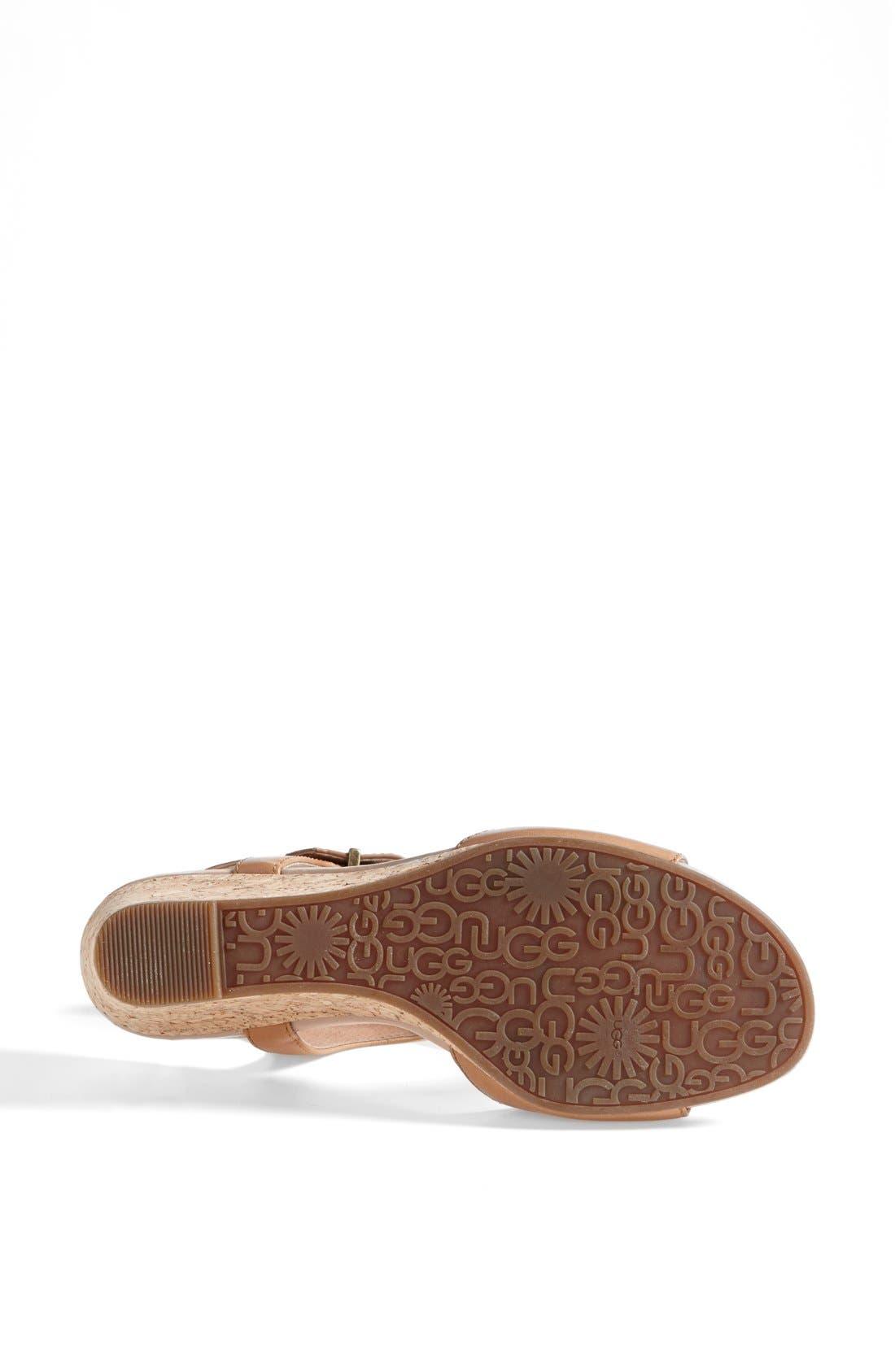 Alternate Image 4  - UGG® Australia 'Arika' Sandal