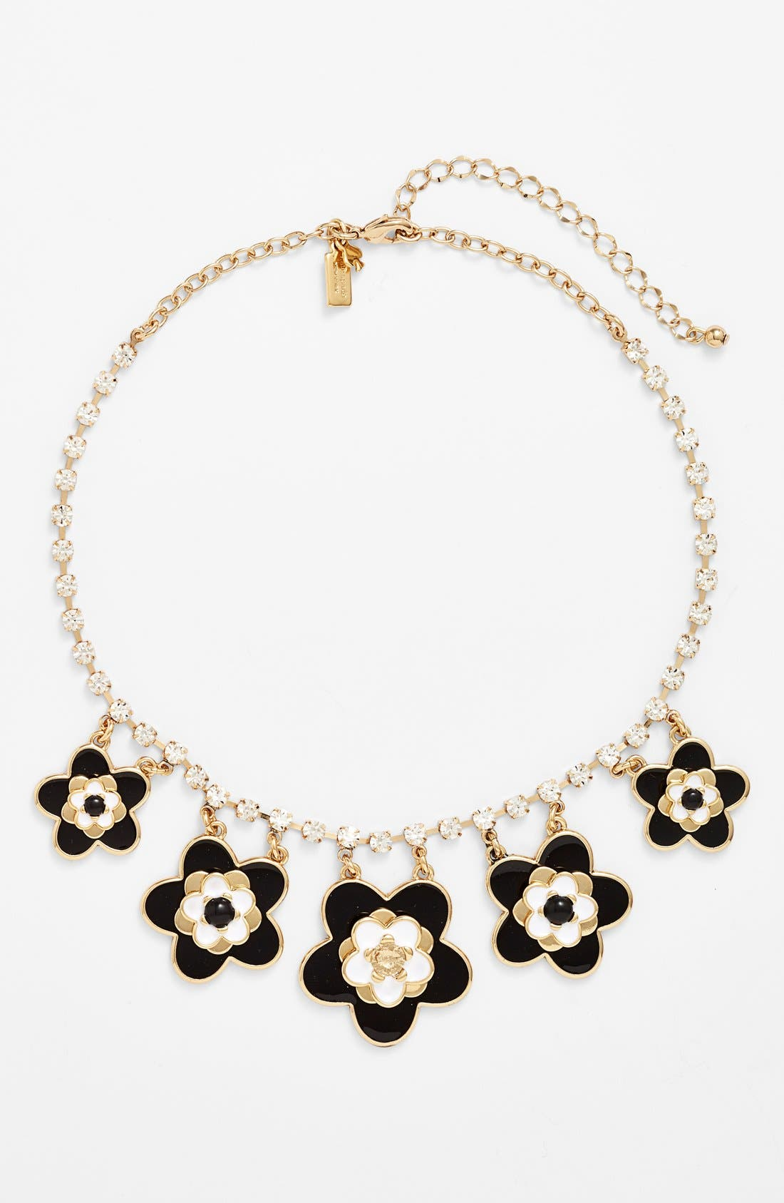 Alternate Image 1 Selected - kate spade new york 'mod floral' bib necklace