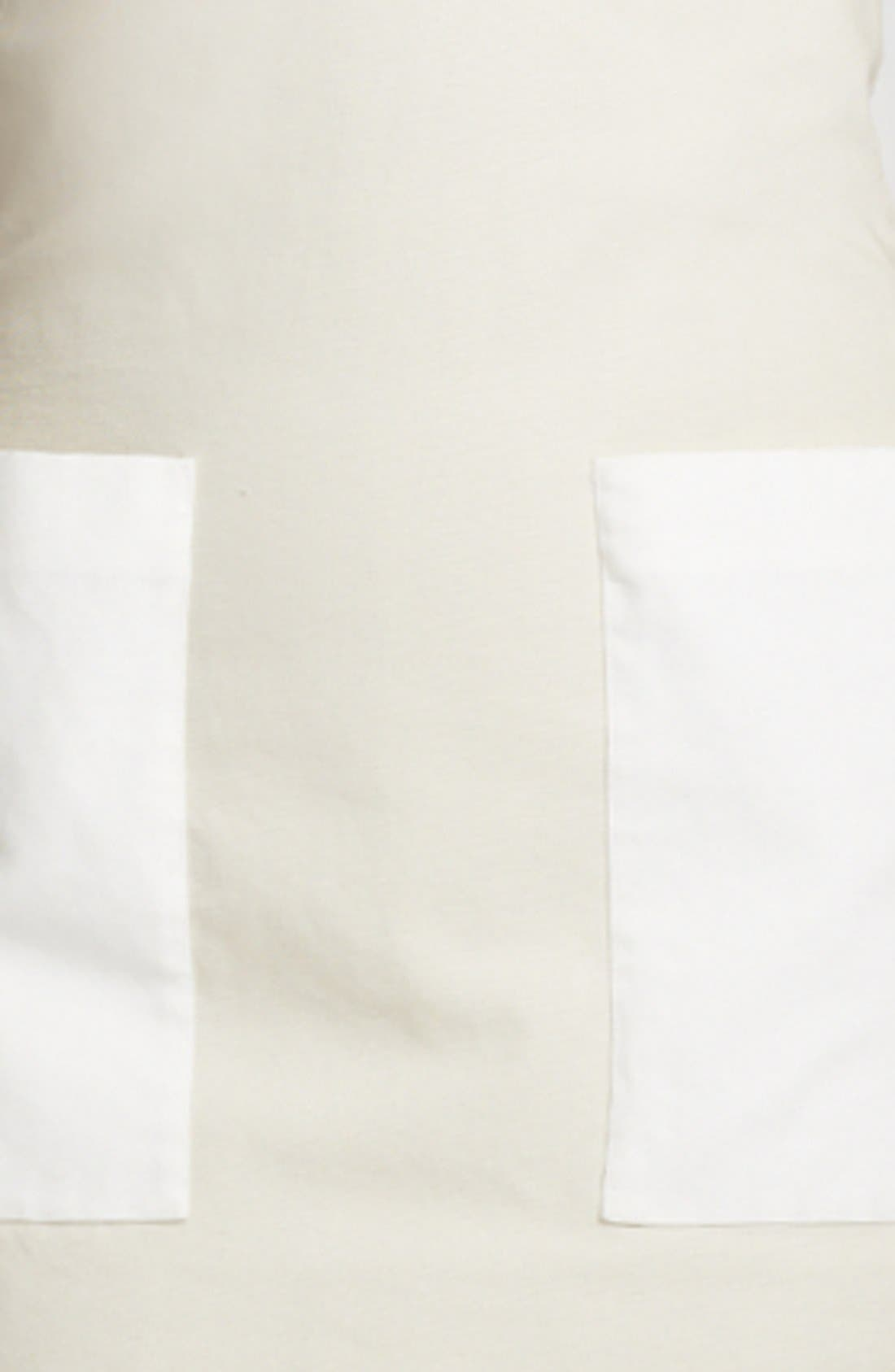 Alternate Image 2  - Alexander McQueen Contrast Pocket Canvas Tunic