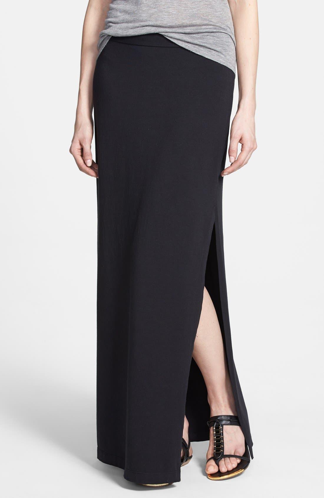 Main Image - Splendid Side Slit Maxi Skirt