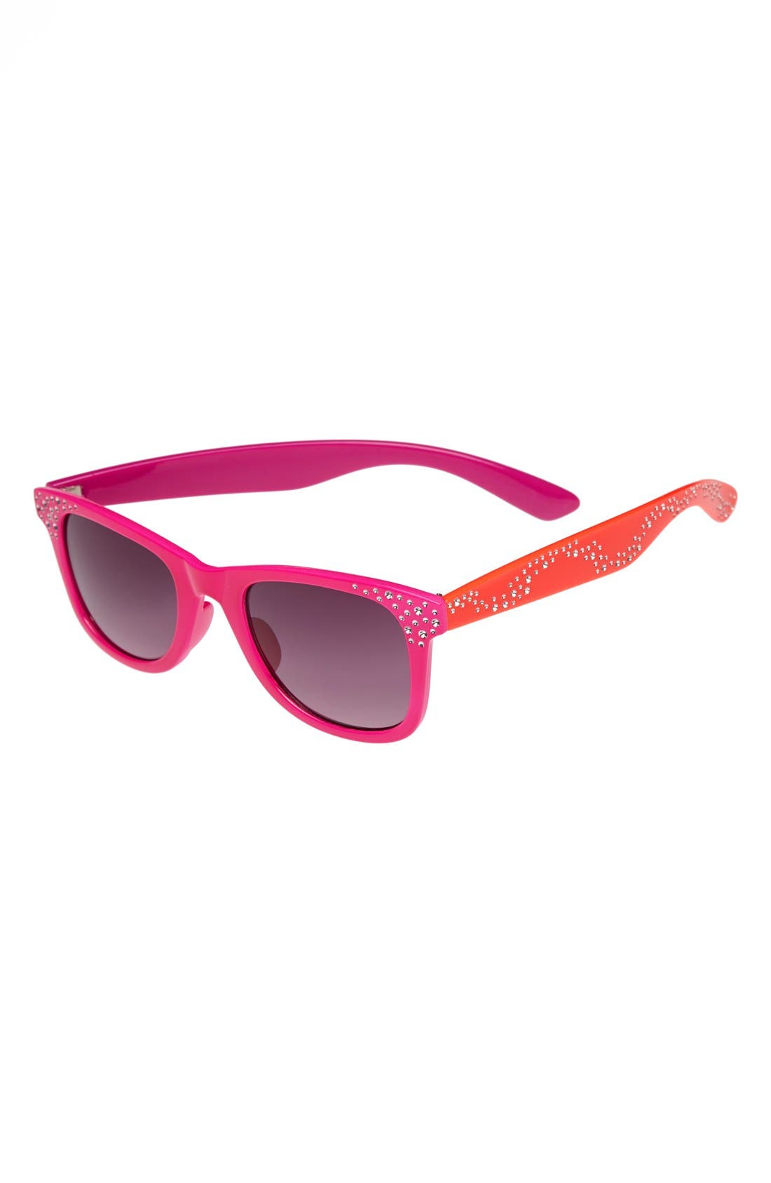 Alternate Image 1 Selected - Fantas Eyes Retro Sunglasses (Girls)