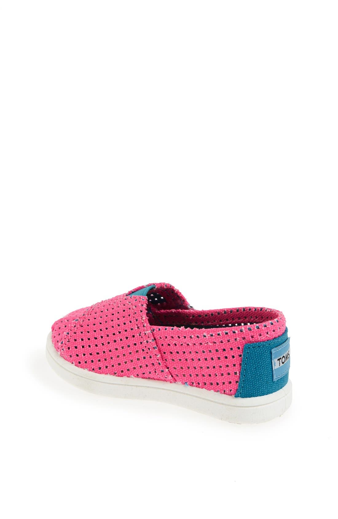 Alternate Image 2  - TOMS 'Classic Tiny - Freetown' Two-Tone Slip-On (Baby, Walker & Toddler)
