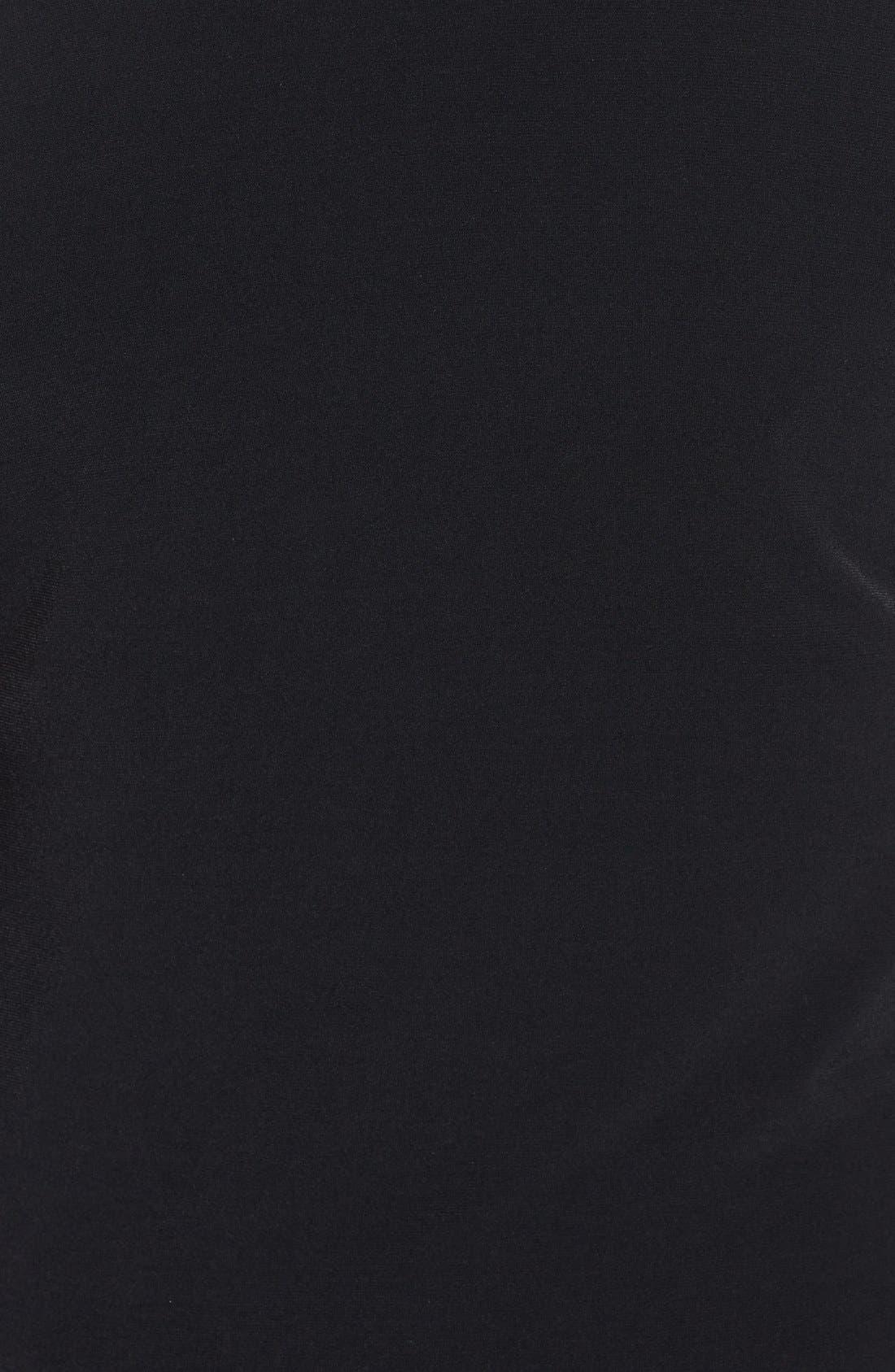 Alternate Image 3  - Calvin Klein Mesh Inset Matte Jersey Maxi Dress (Plus Size)