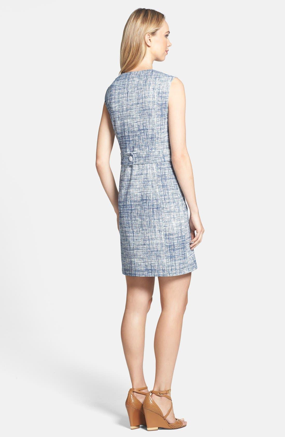 Alternate Image 2  - Tory Burch 'Kinsley' Print Ponte Sheath Dress