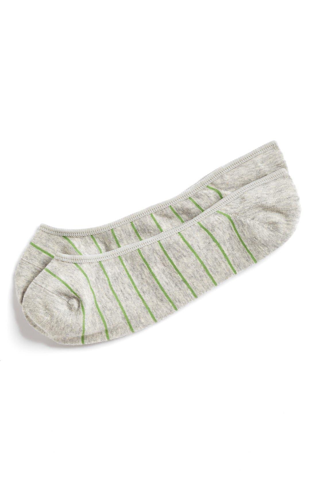 Main Image - 1901 No-Show Liner Socks