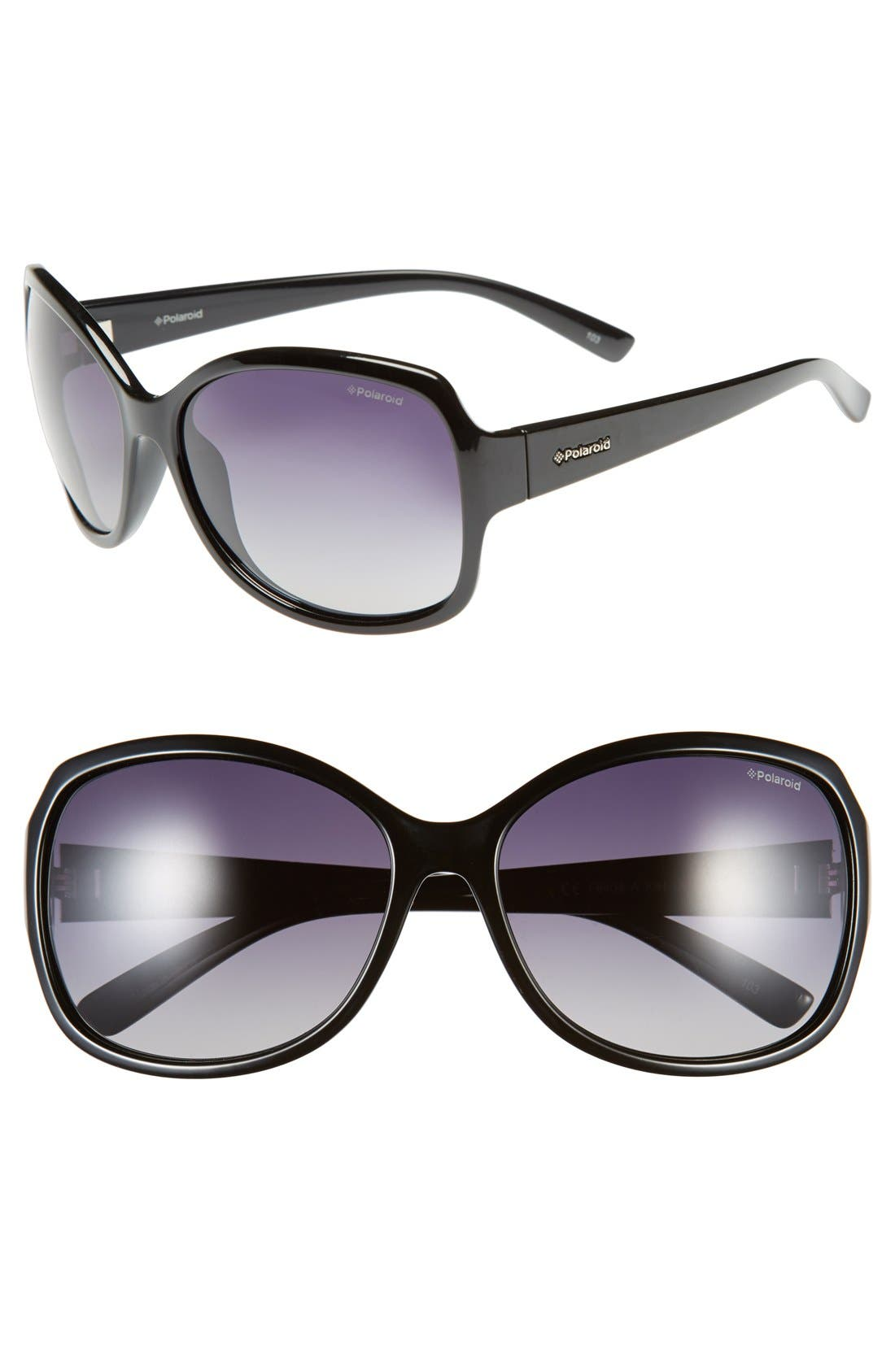 Main Image - Polaroid Eyewear 62mm Polarized Sunglasses