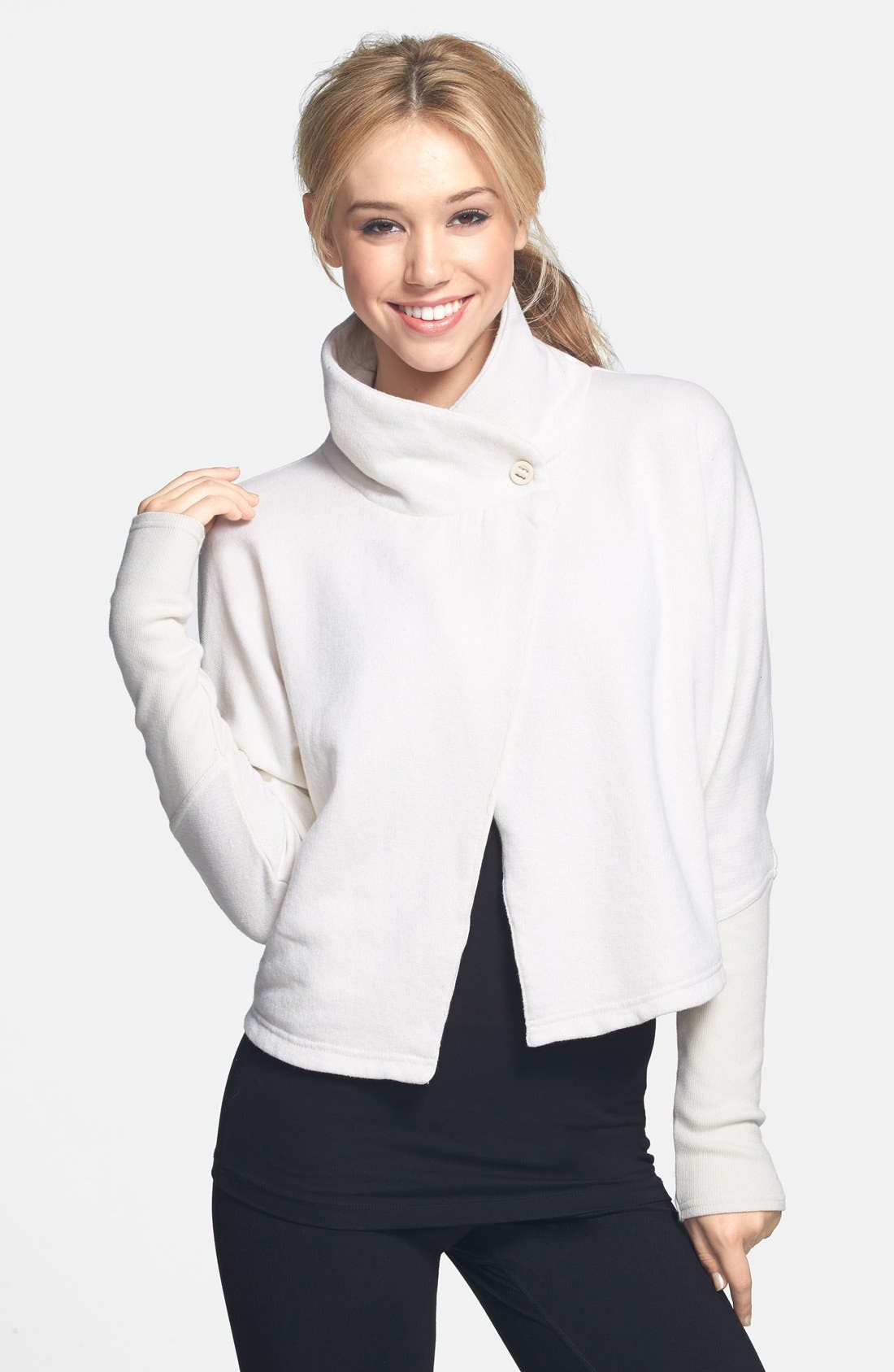 Main Image - Alo 'Ravine' Shawl Sweater (Online Only)