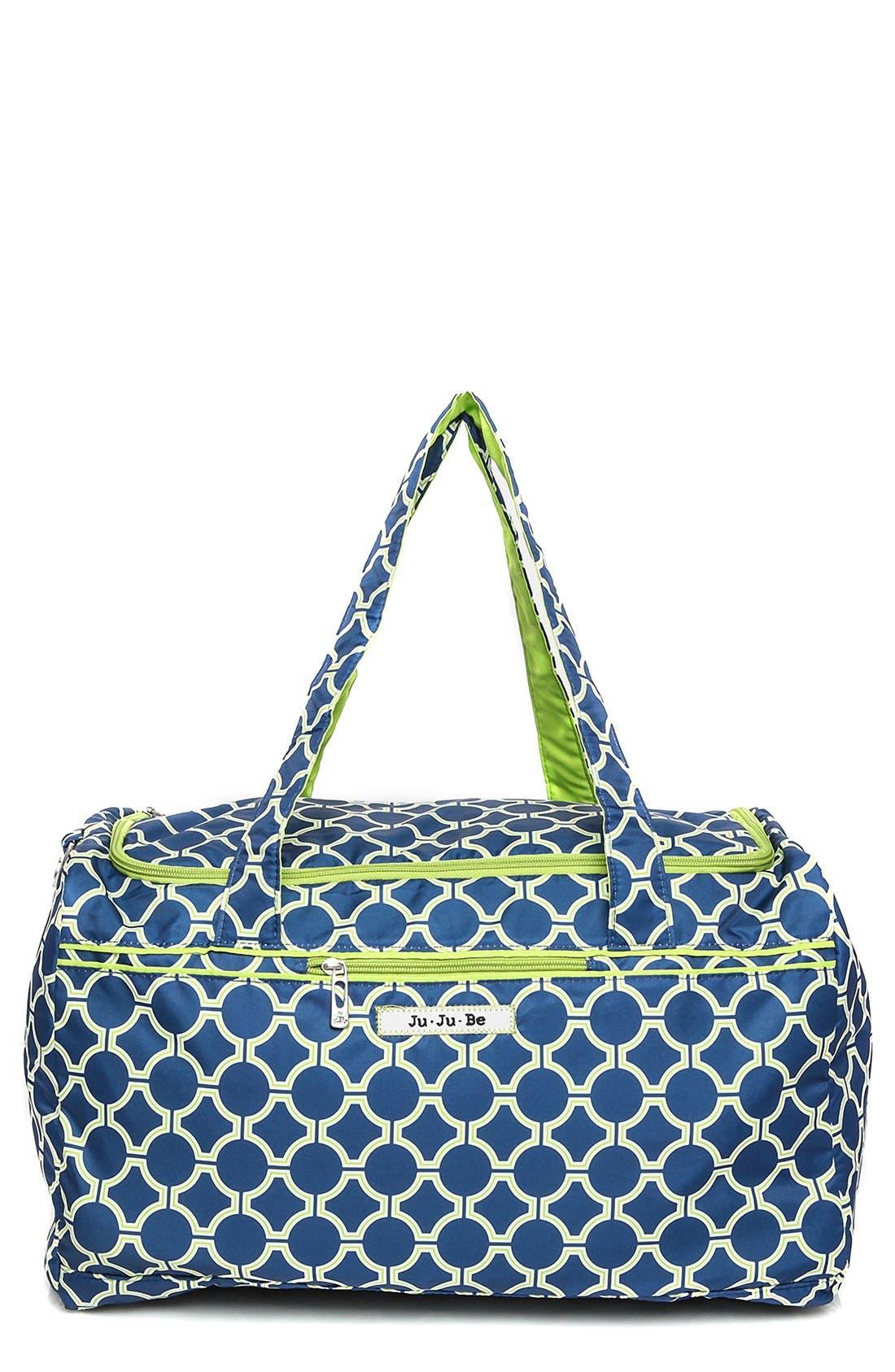 'Starlet' Travel Diaper Bag,                             Main thumbnail 1, color,                             Royal Envy